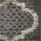 Steinbeck Charcoal Gray Area Rug Rug Size: Square 8'