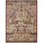 Altadena Burgundy/Gold/Green Area Rug Rug Size: Rectangle 5' x 7'7