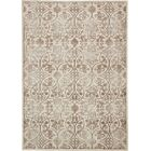 Mathieu Dark Beige/Brown Area Rug Rug Size: Rectangle 8' x 11'6