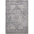 Abbeville Oriental Gray/Dark Blue Area Rug Rug Size: Rectangle 10' x 14'5