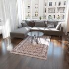 Essehoul Taupe Area Rug Rug Size: Round 6'