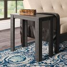 Maurice End Table Color: Black