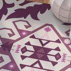 Soluri Purple Indoor/Outdoor Area Rug Rug Size: Rectangle 3' x 5'