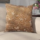 Fuhrmann Throw Pillow Color: Brown