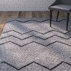 Heimbach Oyster Gray Area Rug Rug Size: Rectangle 7'6