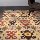 Landry Hand-Tufted Copper/Ivory Area Rug