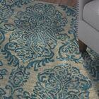 Allenport Hand-Tufted Blue Area Rug Rug Size: 7'6
