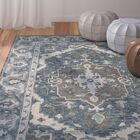 Chancellor Hand-Tufted Wool Dark Blue Area Rug Rug Size: Rectangle 3' x 5'