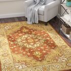 Cranmore Rust/Gold Rug Rug Size: Rectangle 3' x 5'