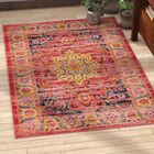 Hollowtop Multi-Colored Area Rug Rug Size: Rectangle 5' x 8'