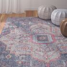 Schifflange Teal Area Rug Rug Size: Rectangle 5' x 8'