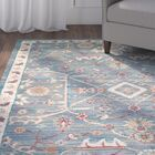 Jansson Blue/Gray Area Rug Rug Size: Round 7'10''