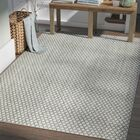 Latimer Modern Hand-Woven Beige Area Rug Rug Size: Rectangle 5' x 8'