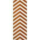 Shepler Wool Tangerine Area Rug Rug Size: Runner 2'6