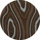 Sarahi Wool Cork Area Rug Rug Size: Round 8'