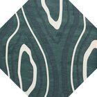 Sarahi Wool Geyser Area Rug Rug Size: Octagon 6'