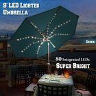 Lucy Patio 9' Cantilever Umbrella Fabric Color: Green