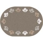 Altair Brown Area Rug Rug Size: Round 7'7