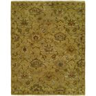 Hermina Hand Knotted Wool Gold Area Rug Rug Size: Rectangle 4' x 6'