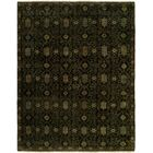 Gunilla Hand Knotted Wool Black Area Rug Rug Size: Runner 2'6