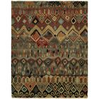 Giselle Hand Knotted Wool Ivory/Rust Area Rug Rug Size: Rectangle 4' x 6'