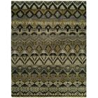 Giulia Hand Knotted Wool Gray/Khaki Area Rug Rug Size: Rectangle 10' x 14'