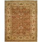 Devansh Hand Knotted Wool Brown/Beige Area Rug Rug Size: Rectangle 2' x 3'