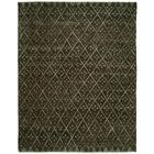 Venita Hand-Knotted Wool Brown Area Rug Rug Size: Rectangle 4' x 6'