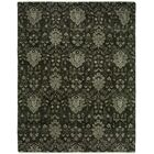 Donahue Hand Knotted Wool Dark Gray Area Rug Rug Size: Rectangle 3' x 5'