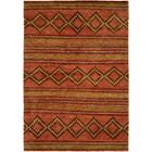 Torri Hand-Knotted Wool Terracotta Area Rug Rug Size: Runner 2'6
