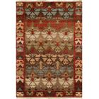 Sonia Hand-Knotted Wool Brown Area Rug Rug Size: Rectangle 4' x 6'