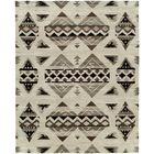 Rehoboth Hand-Knotted Wool Ivory Area Rug Rug Size: Rectangle 6' x 9'
