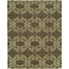 Gryselda Hand Knotted Wool Brown Area Rug Rug Size: Runner 2'6