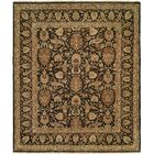 McCook Hand Knotted Wool Black/Tan Area Rug Rug Size: Rectangle 3' x 5'