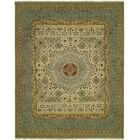 Masontown Wool Beige/Blue Area Rug Rug Size: Rectangle 10' x 14'