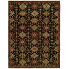 Gustel Wool Black Area Rug Rug Size: Rectangle 3' x 5'