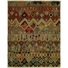 Hulton Wool Red/Beige Area Rug Rug Size: Rectangle 2' x 3'