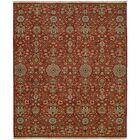 Mccall Wool Red Area Rug Rug Size: Rectangle 3' x 5'