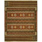 Ericka Wool Brown Area Rug Rug Size: Rectangle 2' x 3'