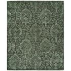 Pieter Hand-Knotted Wool Gray Area Rug Rug Size: Rectangle 3' x 5'