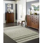 Phillipston Granite Hand-Knotted Cotton Gray Area Rug Rug Size: Rectangle 3'6