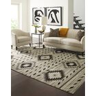 Reading Hand-Knotted Wool Ivory Area Rug Rug Size: Rectangle 10' x 14'