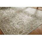 Leah Hand Knotted Wool Ivory Area Rug Rug Size: Rectangle 8' x 10'