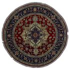 One-of-a-Kind Bethany Hand-Knotted Wool Red/Beige Area Rug