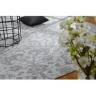 Analia Hand-Knotted Cotton Platinum Area Rug Rug Size: Rectangle 7'6