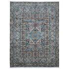 One-of-a-Kind Evert Tabriz Oriental Hand Woven Wool Blue/Green Area Rug