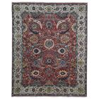 One-of-a-Kind Uffington Oriental Hand Woven Wool Red/Beige Area Rug