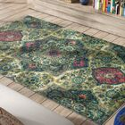 Asherman Teal/Pink/Green Area Rug Rug Size: Rectangle 5' x 8'