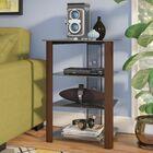 Multi-Level Audio Rack Color: Wood Espresso