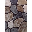 Wickstrom Hand-Tufted Brown/Gray Area Rug Size: Rectangle 7'6